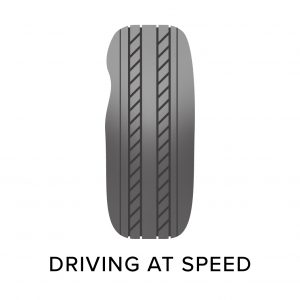 tyre damage from driving at speed